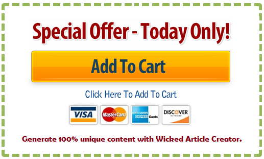 Wicked article creator special coupons