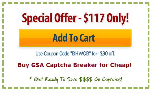 gsa captcha breaker discount coupon code