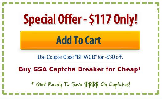 gsa captcha breaker discount coupon code